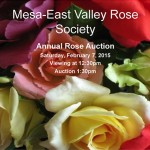 Rose Auction Catalogue